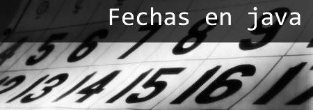fechas